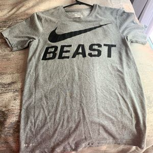 Nike dry fit t -shirt size S